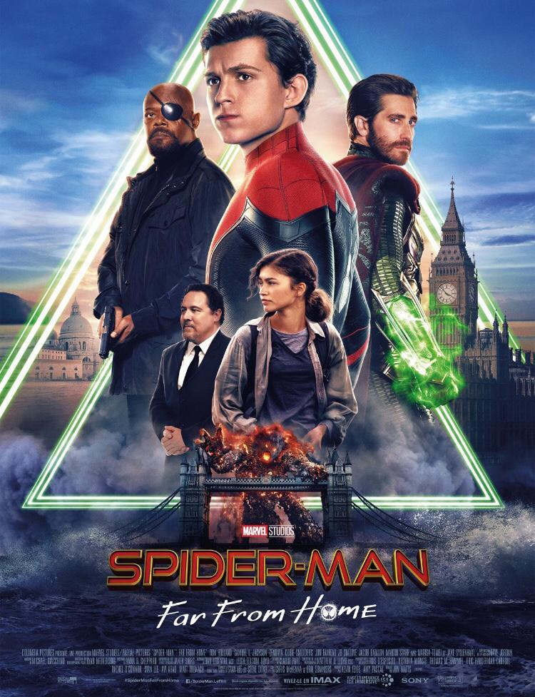 Spider man :far from home - dès le 3 juillet 2019
