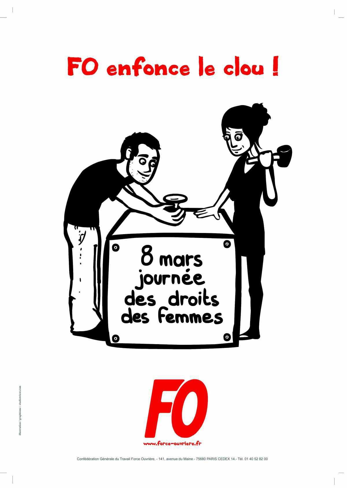 8 Mars Journée des droits des Femmes