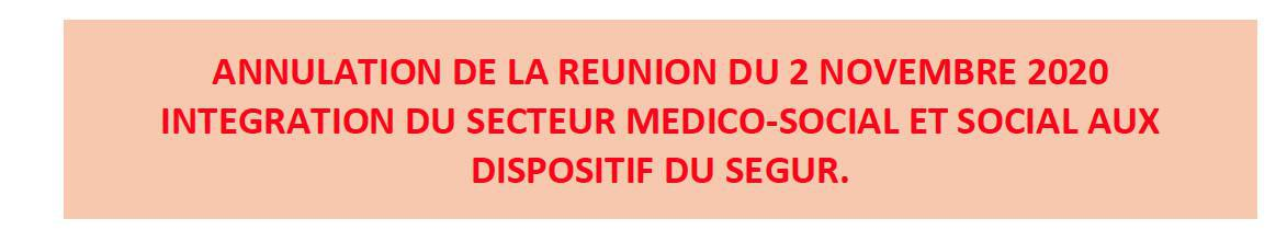 Info Ségur MEDICO-SOCIAL