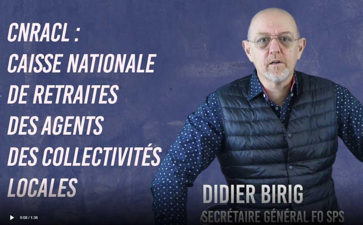 Élections CNRACL : Vidéo