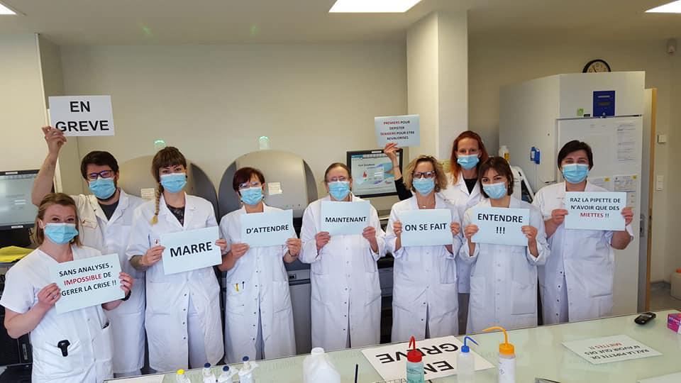Technicien de laboratoire, préparateur en pharmacie hospitalière, diététicien : égalité de traitement pour tous !