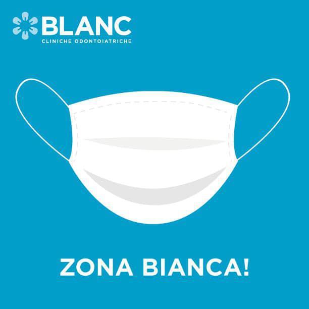 Finalmente tutte le Cliniche Blanc sono tornate in zona bianca!