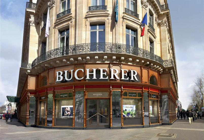 Bucherer - Maison d'horlogerie / HIGH QUALITY WATCHMAKING - PARIS - MEMBER OF THE CLUB AMILCAR