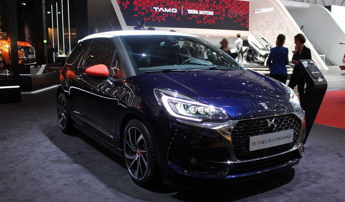 NEW : 500 ... DS 3 INES DE LA FRESSANGE on DS World Paris !