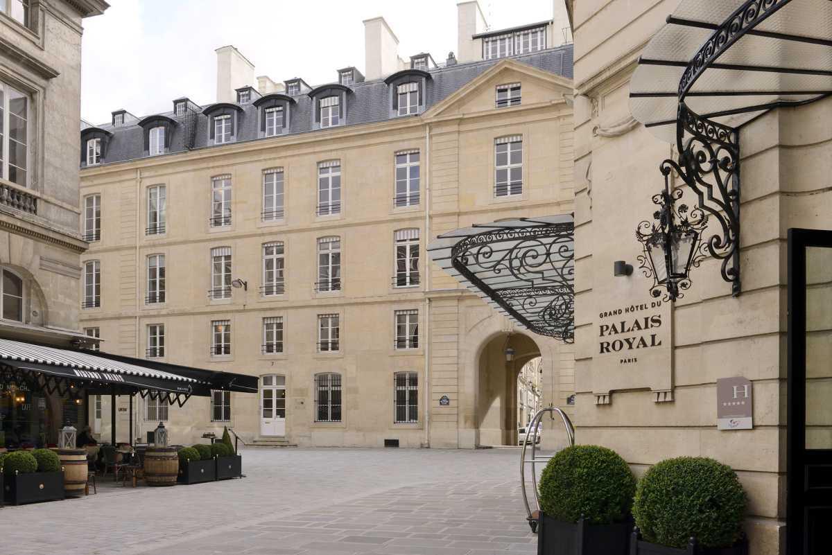 La terrasse du Grand Hôtel du Palais Royal vous ouvre ses portes – INAUGURATION 27 JUIN 2017