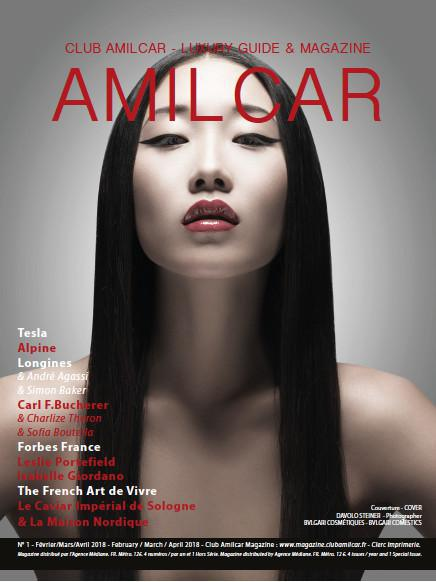 Magazine Club Amilcar - Distribution en hôtels et boutiques de luxe - Distribution in hotels and luxury shops
