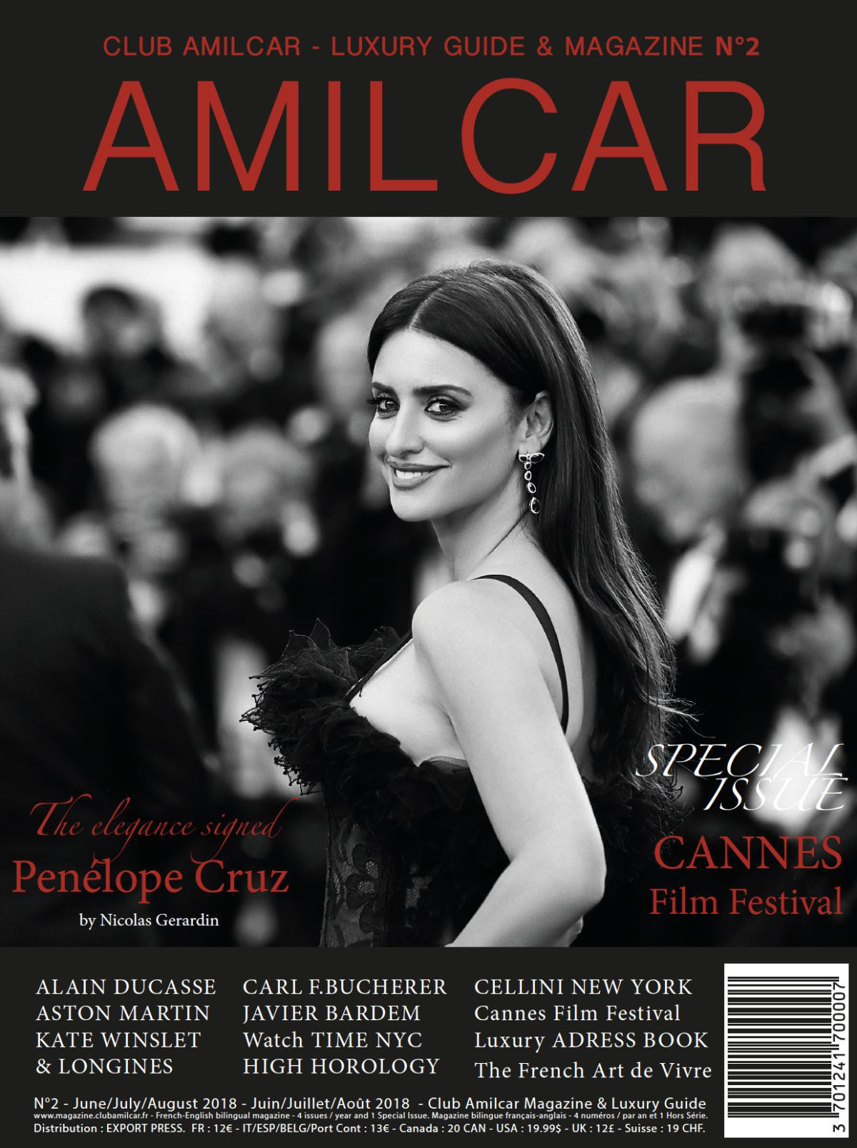 AMILCAR MAGAZINE available on newsstands !