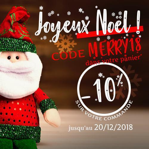 🎅 -10% pour préparer Noël* !