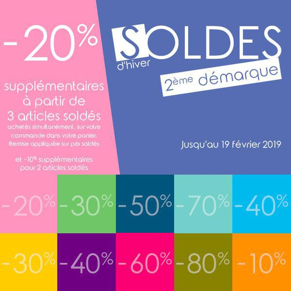 SOLDES : -20% supplémentaires !!!