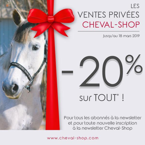 🦹♀️♠️ C'est parti pour les VENTES PRIVÉES CHEVAL-SHOP ! ♥️♣️
