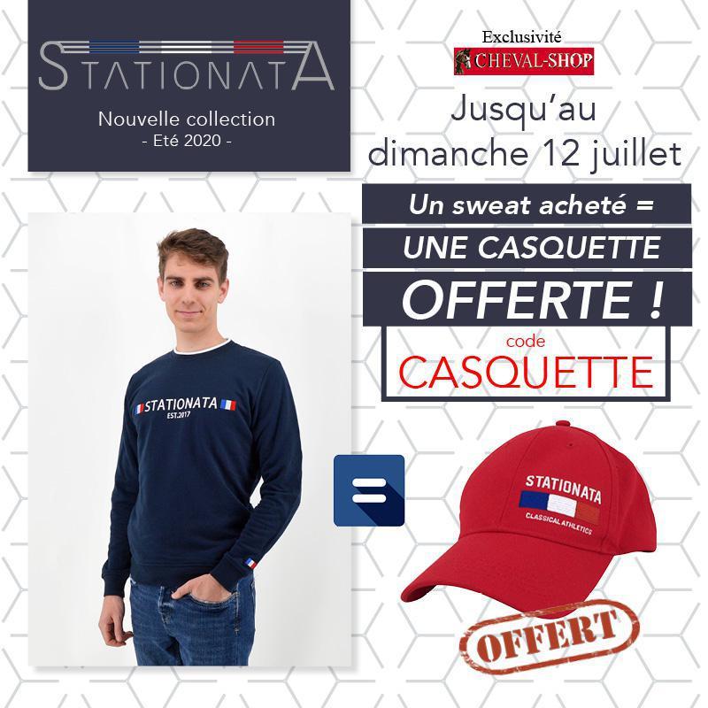 Découvrez la nouvelle collection Stationata et recevez votre casquette offerte
