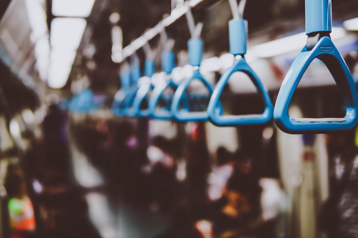 Meditating in public transportation?