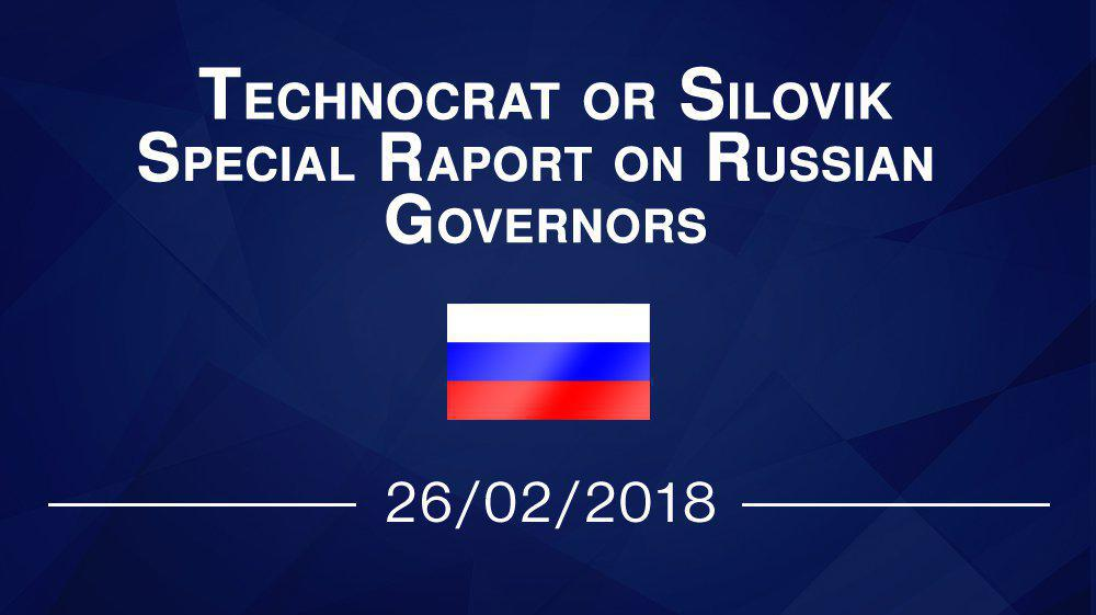 Technocrat or silovik – special report on Russian governons