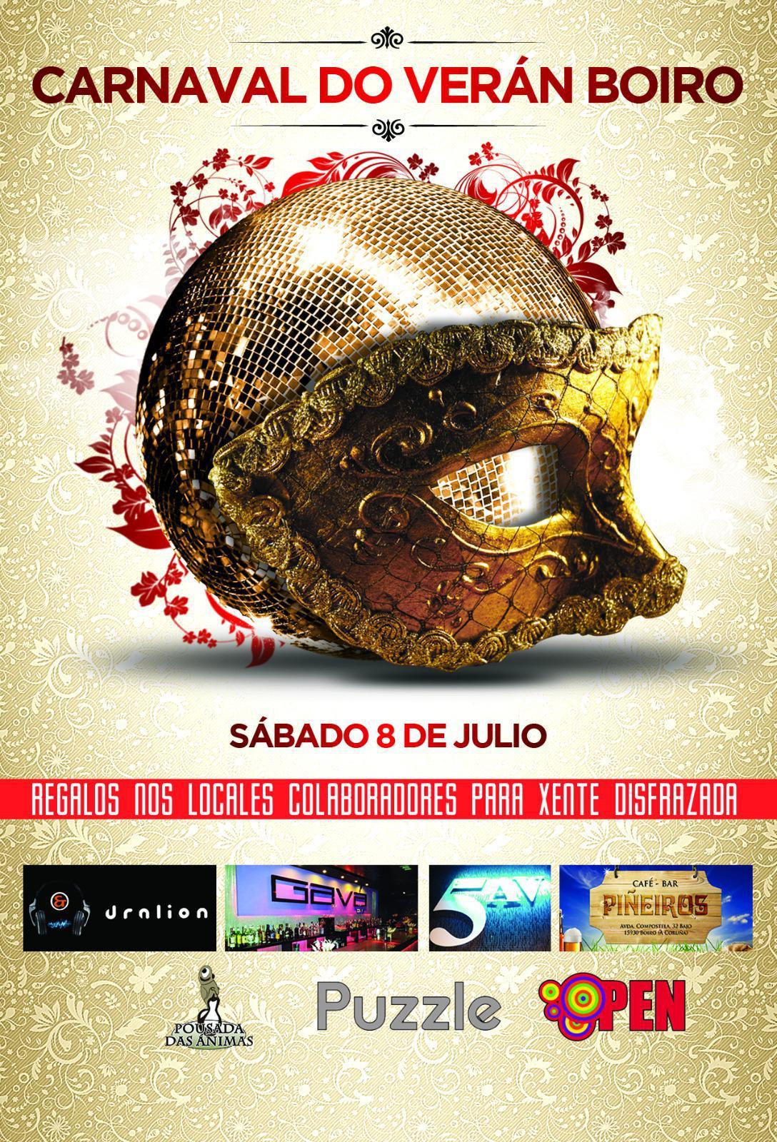 Carnaval de Verano en Boiro