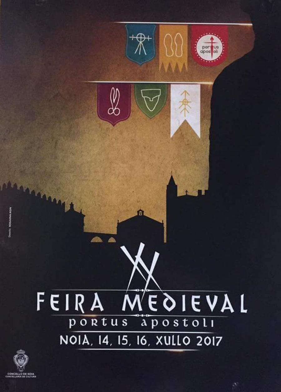 Llega la XX Feira Medieval de Noia