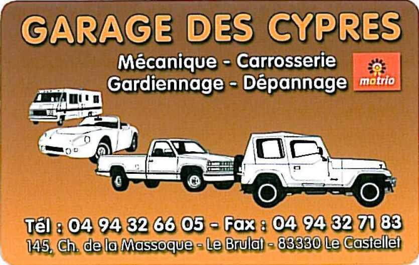 Garage des Cyprés