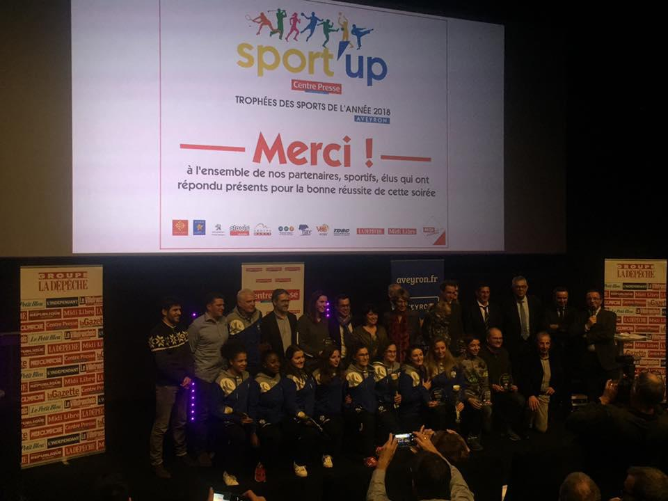 SPORT'UP: Trophées des Sport de l'Aveyron 2018