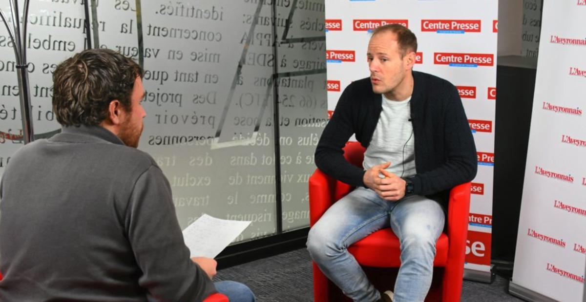 Aurélien Simon, l'homme d'expérience du Roc handball