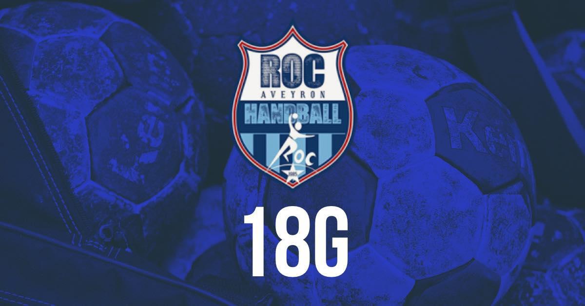 Rejoins les 18 France du ROC Aveyron Handball