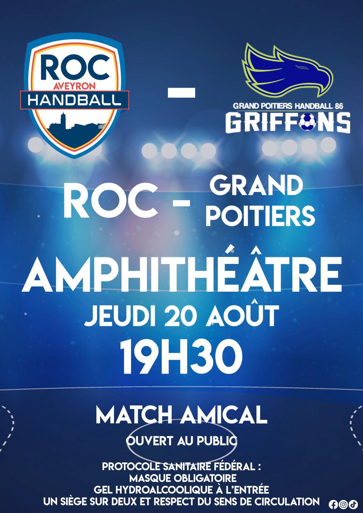 Match Amical du ROC !