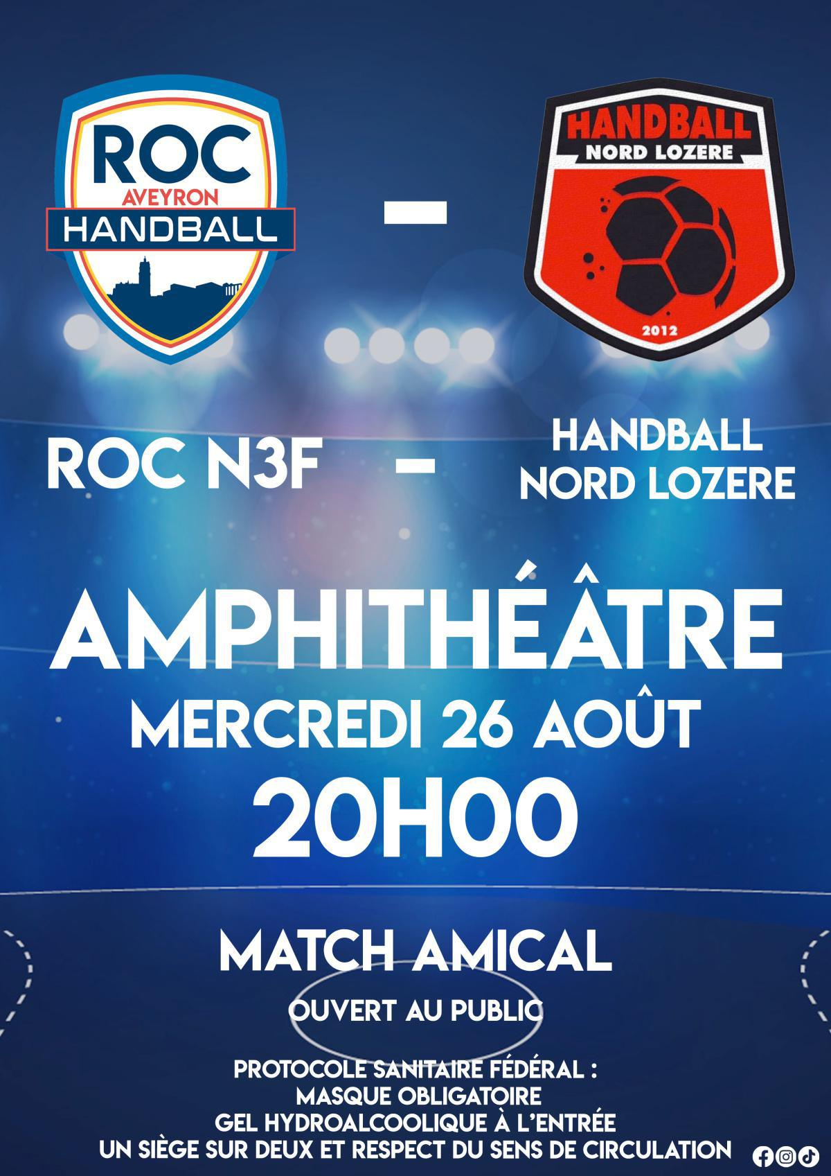 Match Amical du ROC N3F