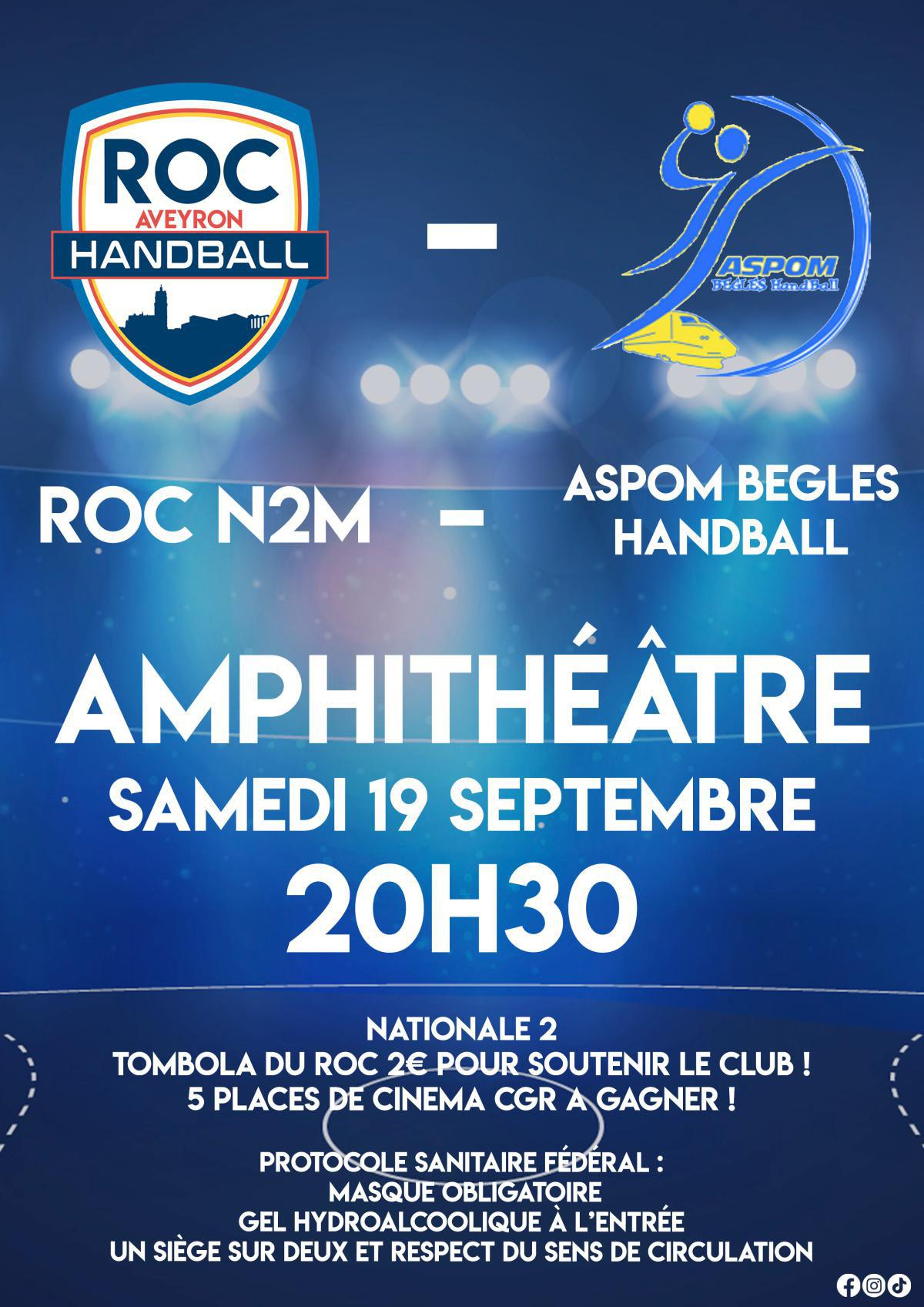 ROC / BEGLES le 19/09