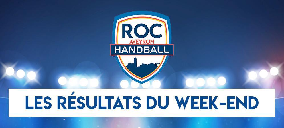 Résultats du Week end !