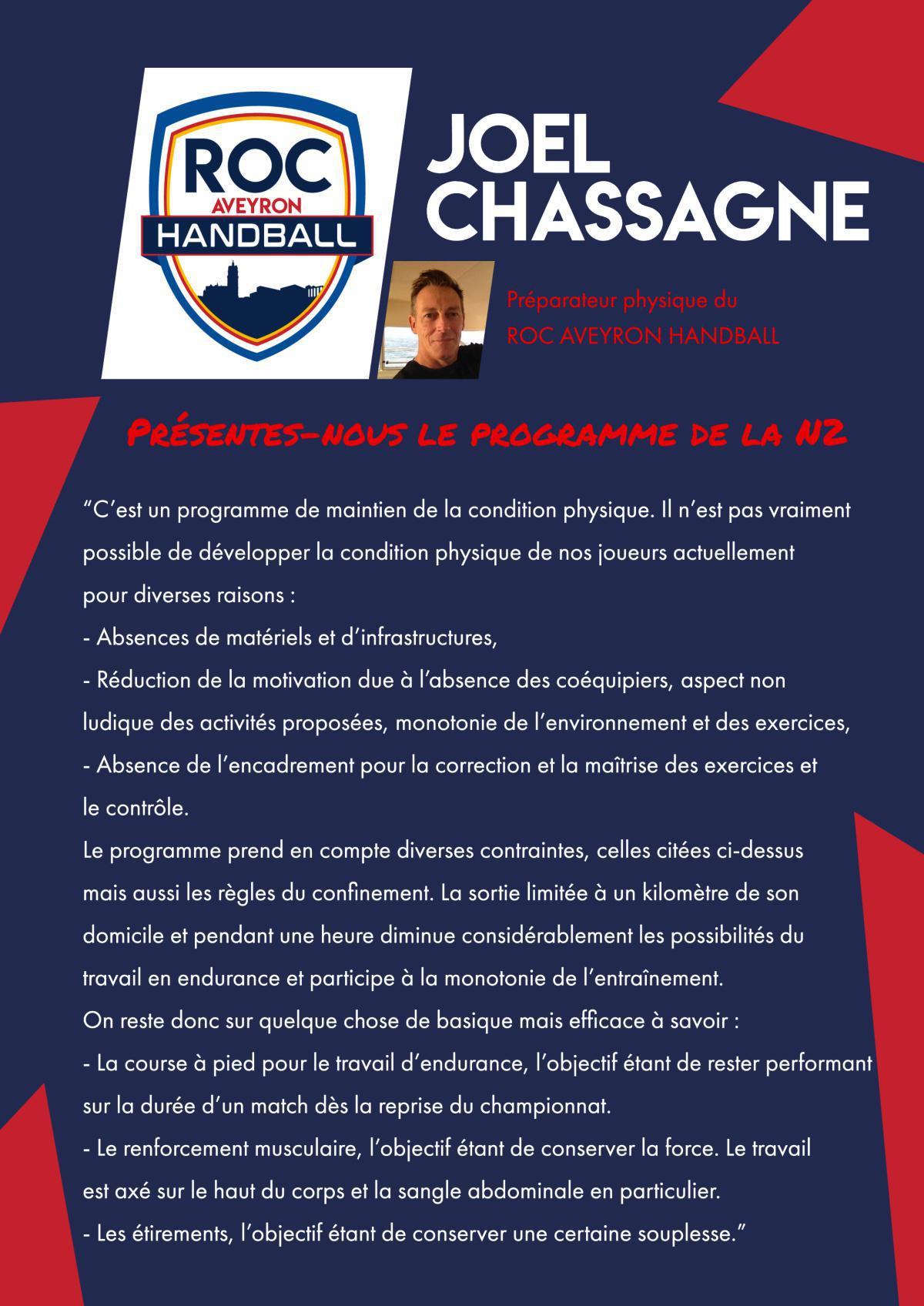 Interview de Joel Chassagne