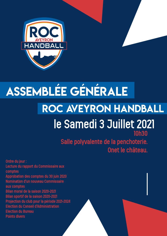 Assemblée Générale du Roc 2021