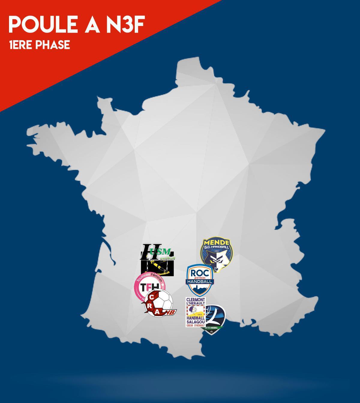 Poule A N3F du ROC