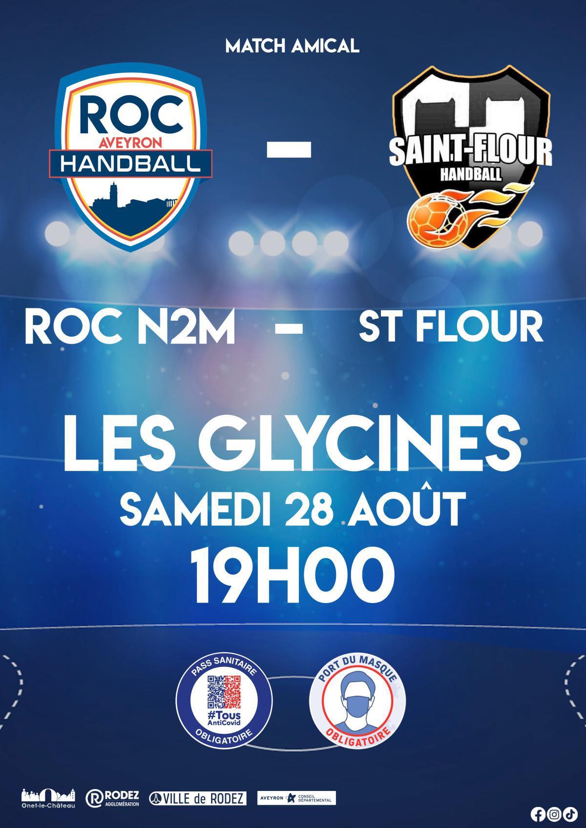 Match amical samedi 28 Août
