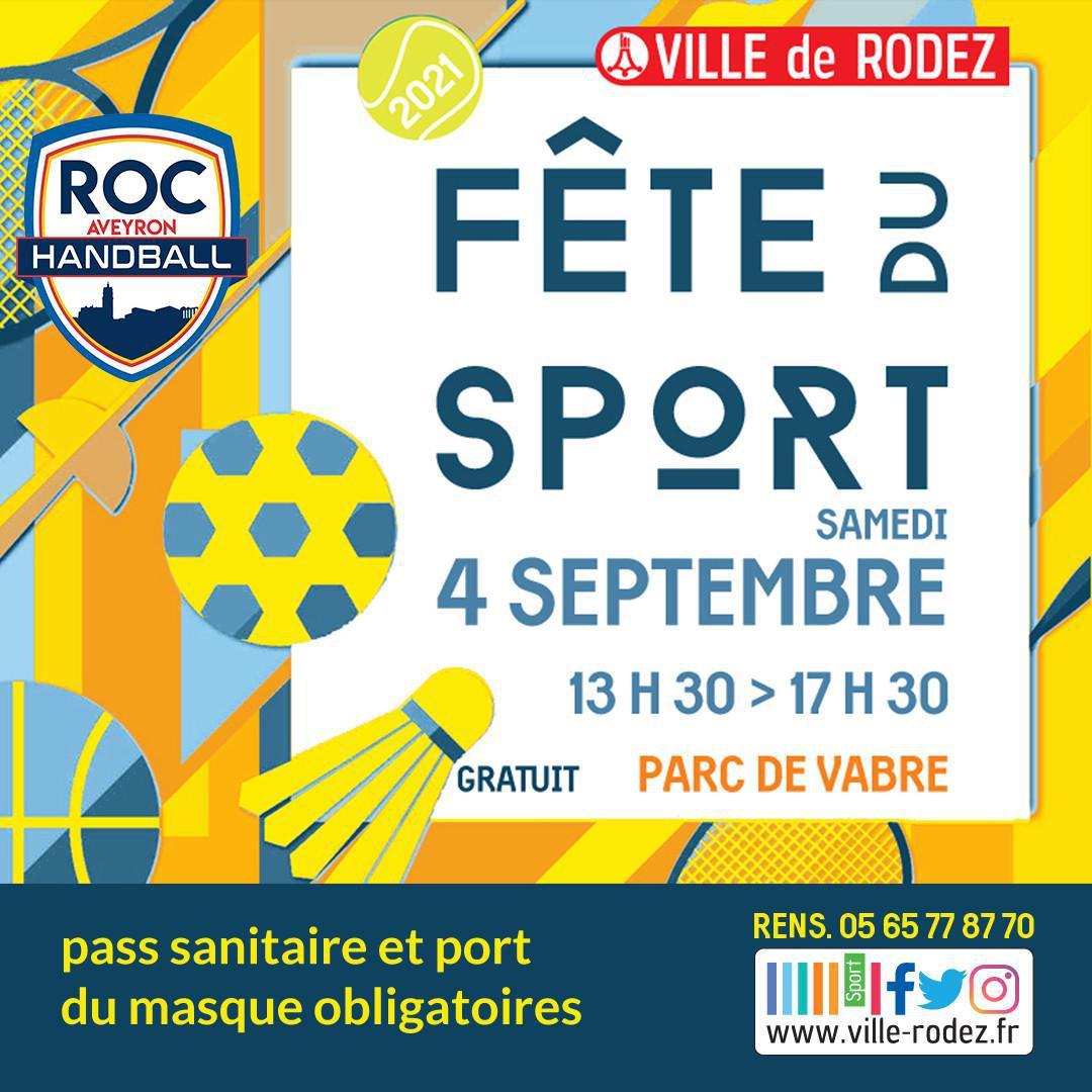 Le ROC présent à la fête du sport !