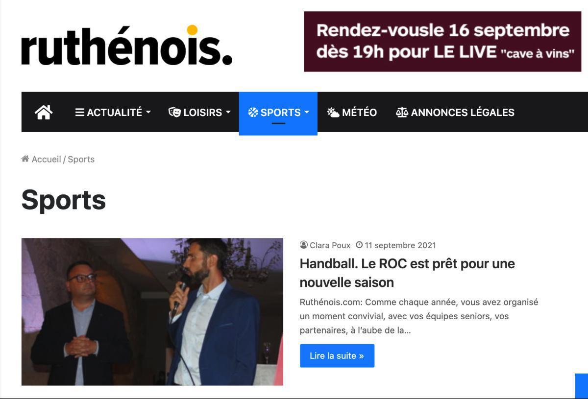 Le Roc dans Ruthenois.com