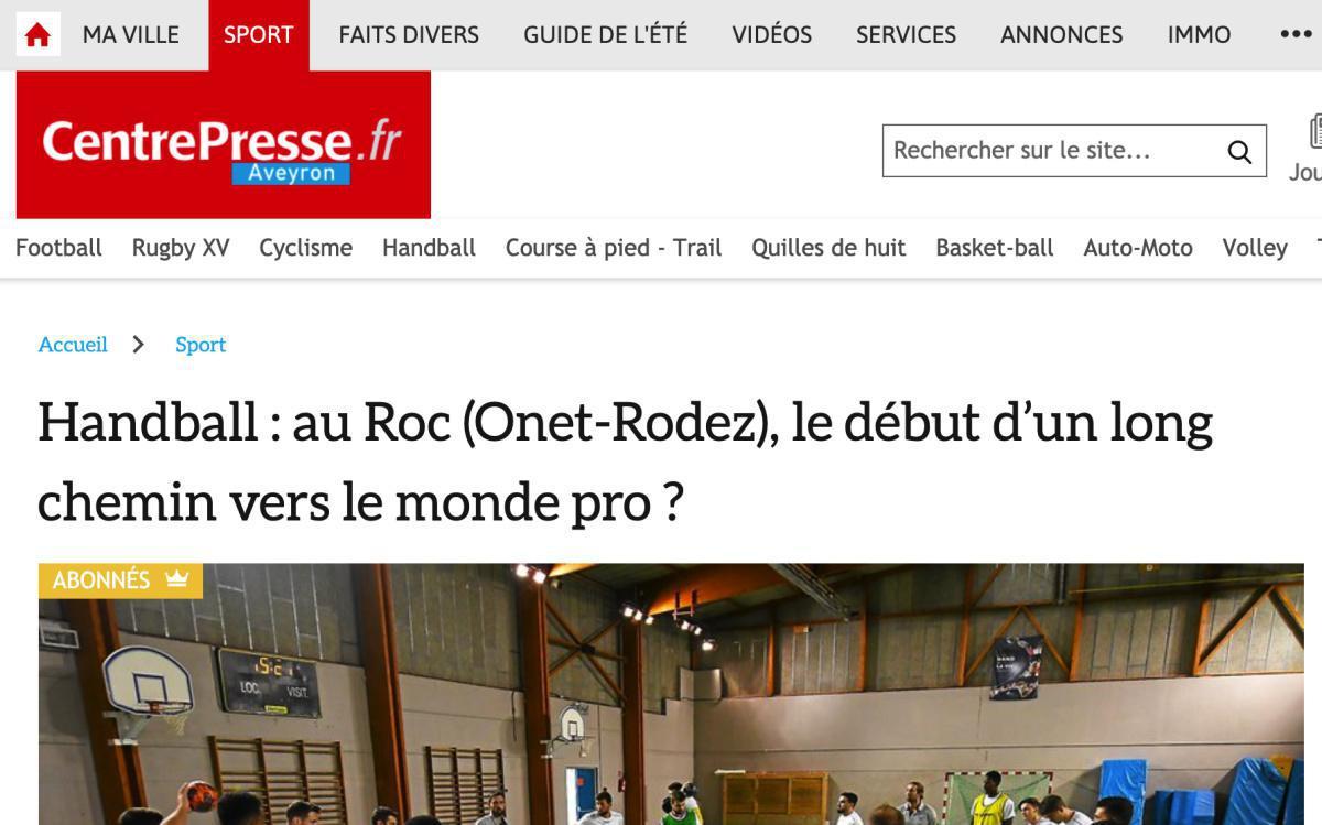 Le ROC dans Centre Presse