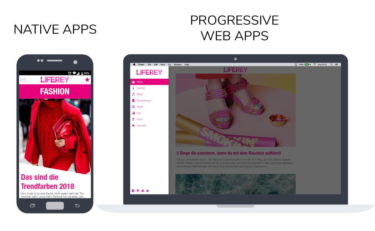 Criar um PWA ou um app Nativo?