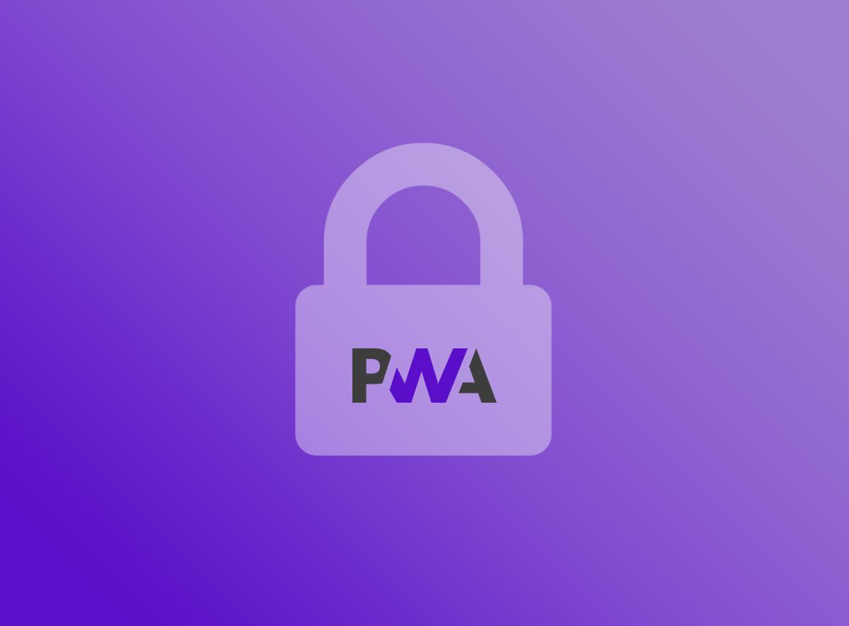 Restringir o acesso ao seu PWA com uma senha