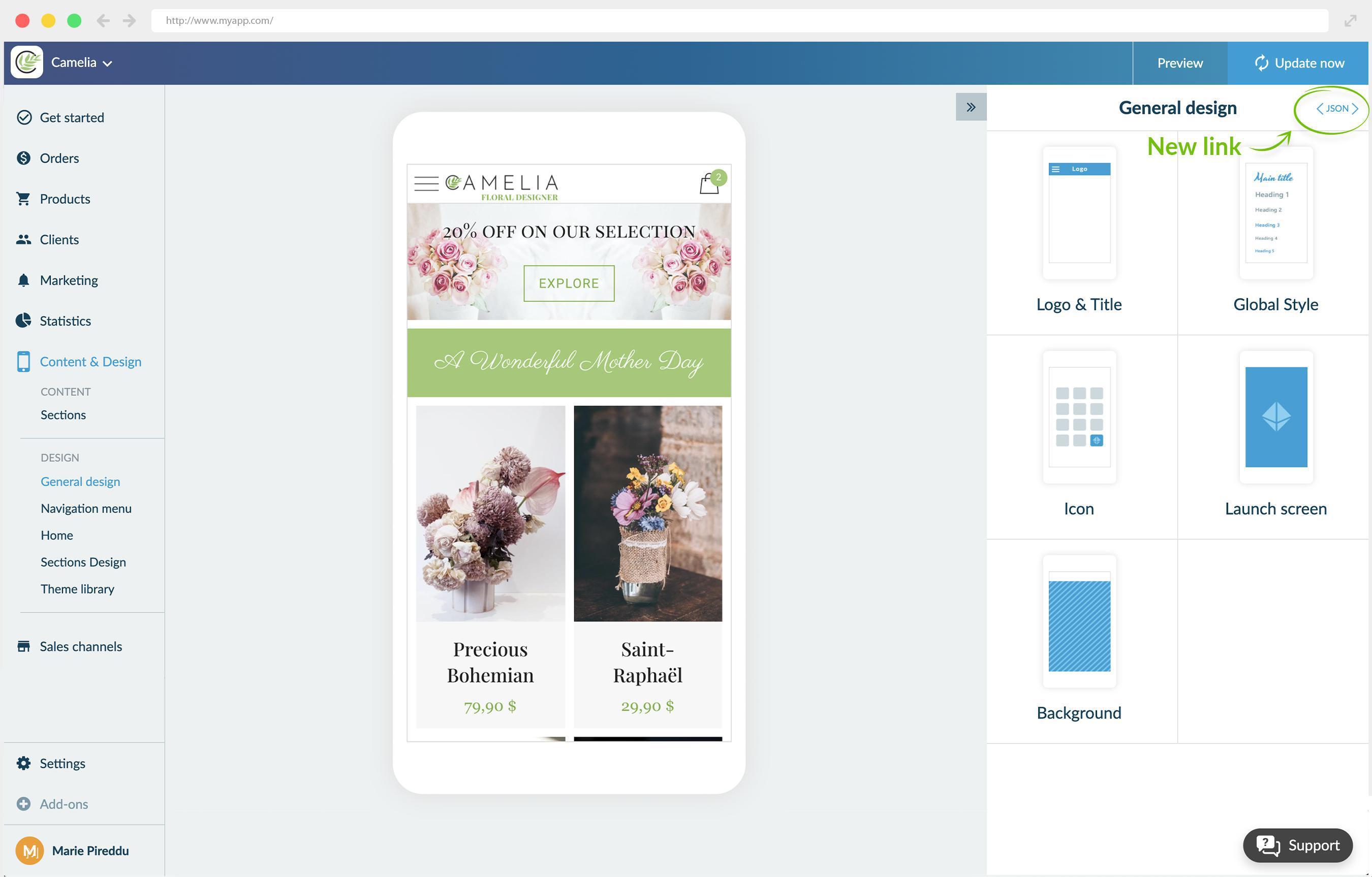 O add-on Ferramenta de Desenvolvedor agora está disponível em Aplicativos de Compras