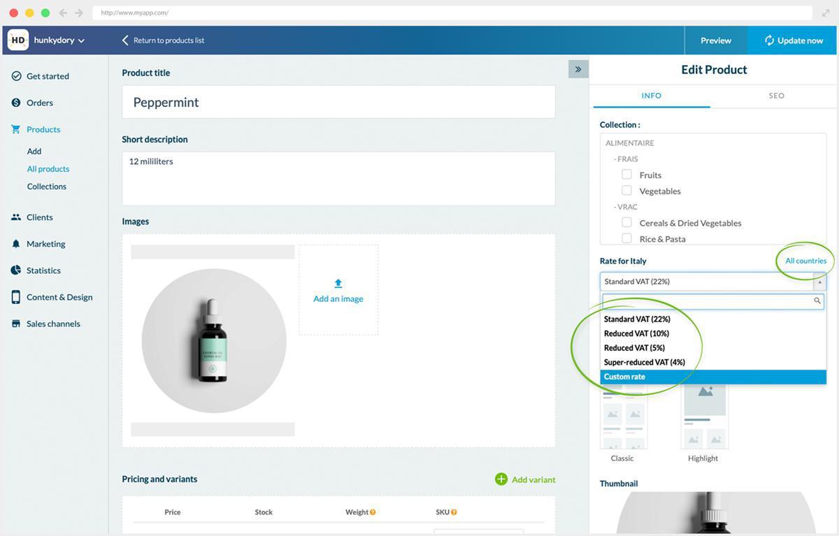 Shopping Apps: Configurações avançadas de Gerenciamento Tributário atualizadas