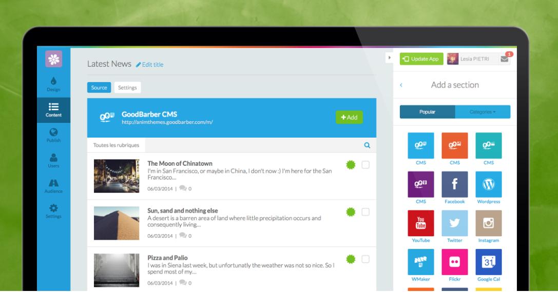 GB3 - Apps Imbatíveis Com Novo CMS