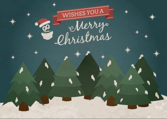 A Equipa da GoodBarber deseja-te um Feliz Natal!