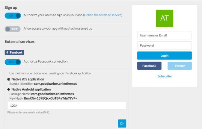 Login do User, a Nova Funcionalidade para a tua App GoodBarber