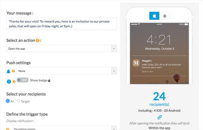 Reinvente seu negócio com o Add-On de iBeacons