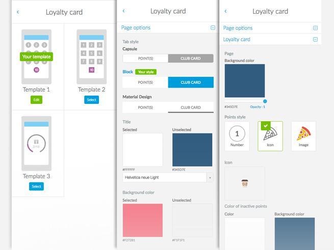 Como customizar o design do seu Cartão Fidelidade