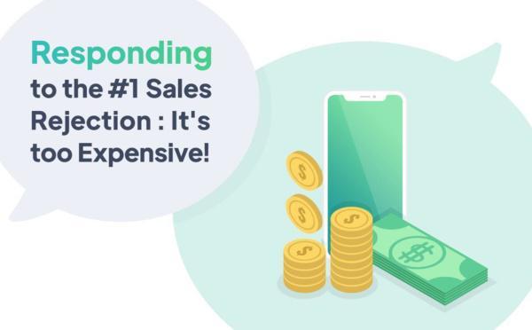 Respondendo a rejeição de venda n.1: É muito caro!