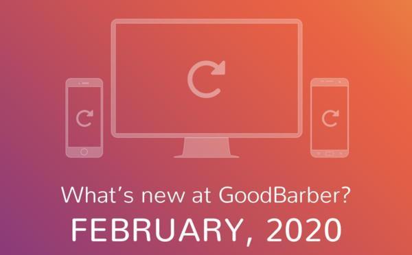 O que há de novo na GoodBarber? Fevereiro de 2020