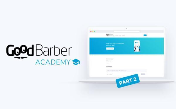 GoodBarber Academy: Cursos para Aplicativos Clássicos agora disponíveis