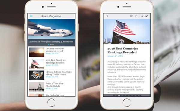 Como criar uma boa app para um website de notícias?