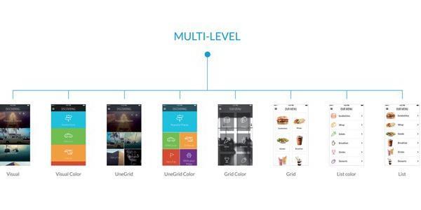 Menu, a poderosa secção da tua App