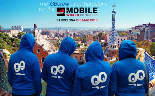 GoodBarber @ Mobile World Congress em Barcelona