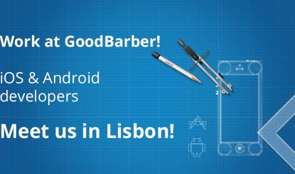 GoodBarber vai estar em Lisboa para contratar o próximo programador Android e iOS